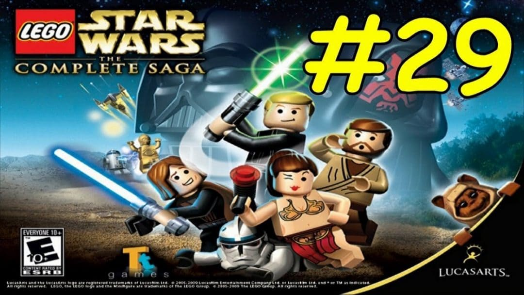 lego star wars the complete saga walkthrough episode 5