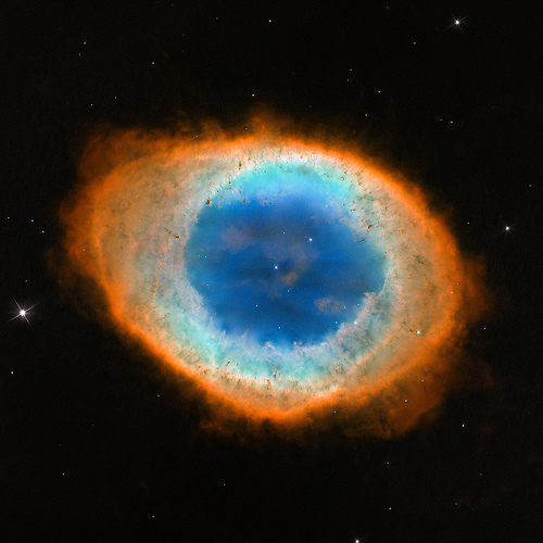 heritage m57 hubble hst ngc6720 planetarynebula uvis wfc3 (Photo: Hubble Heritage on Flickr)