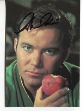 star trek WILLIAM SHATNER autograph HAND SIGNED 859