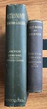 Two Old Science Text Books / PRACTICAL PHYSICS 1885 / ASTRONOMY 1887