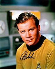 William Shatner/ Star Trek Original Autograph 8x10 w COA
