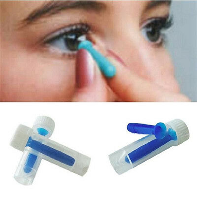 1 X Contact Lens Inserter For Color /Colored /Halloween Contact Lenses B^