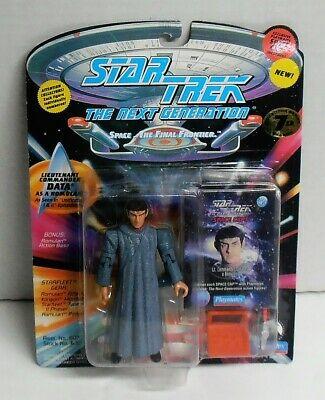 1994 Star Trek TNG Lieutenant Commander Data as a Romulan with Accessories NIP