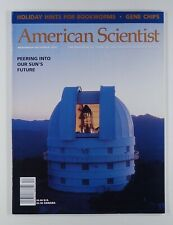 2000 AMERICAN SCIENTIST books issue GENE CHIPS white dwarf stars THERMOACOUSTICS