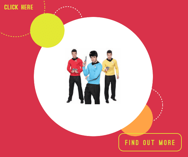 Star trek fancy dress xxl