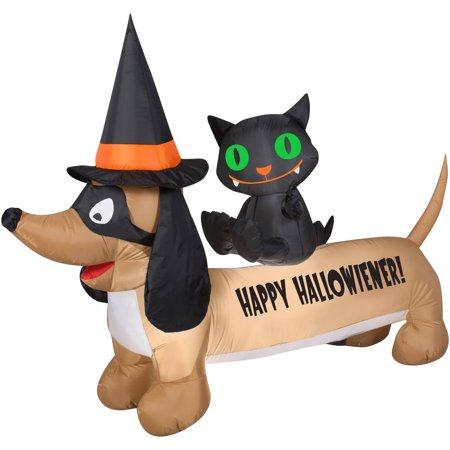 Airblown Dachshund Halloween Decoration