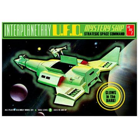 AMT 622 1:500 Interplanetary UFO Mystery Ship Plastic Model Kit