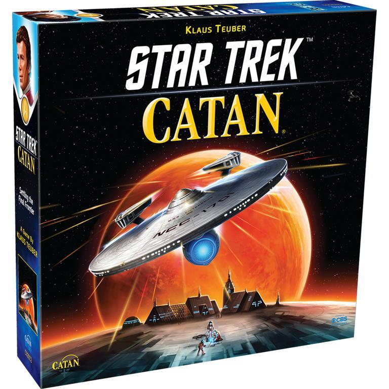 Asmodee North America Star Trek Catan Board Game Available At GameStop Now!