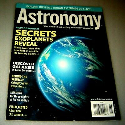 Astronomy Magazine June 2018 Secrets Exoplanets Reveal - White Dwarf Stars