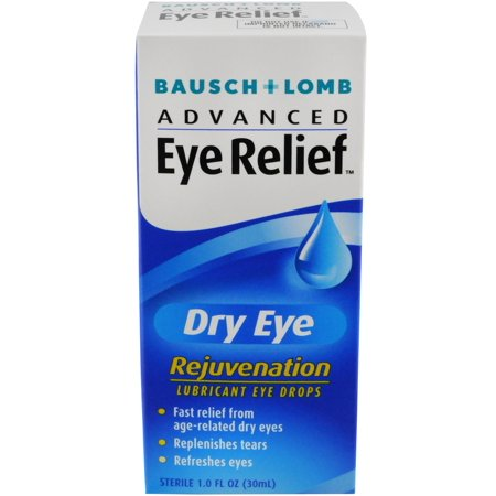 Bausch & Lomb Advanced Eye Relief Rejuvenation Lubricant Eye Drops 1 oz