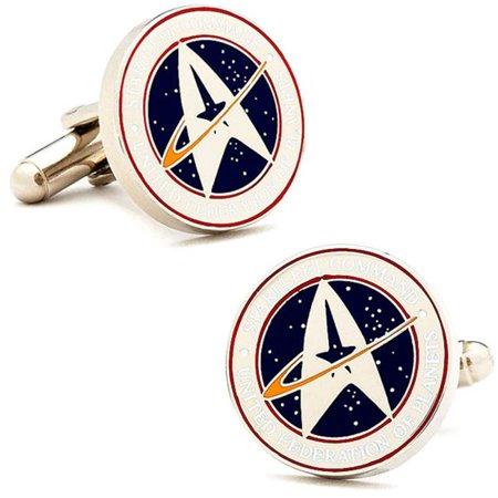 Cufflinks, Inc. ST-STCO-SL Star Trek Starfleet Command Cufflinks