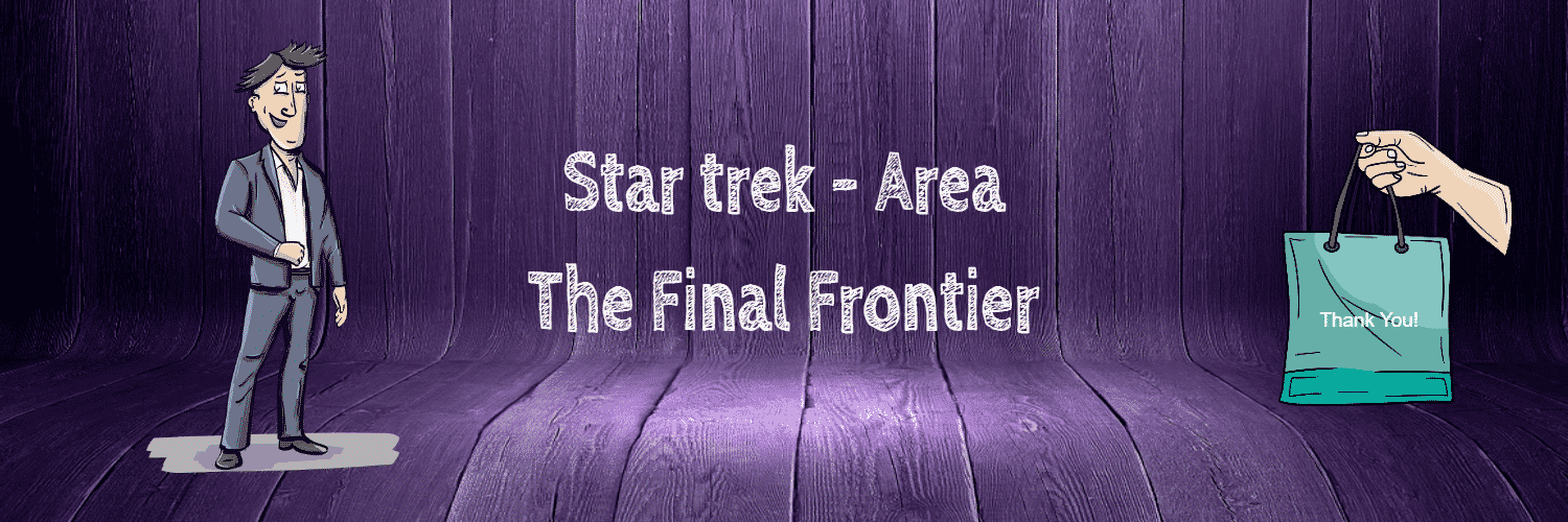 Star trek - Area, The Final Frontier