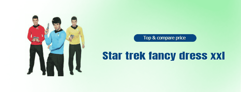 Best Star trek fancy dress xxl online