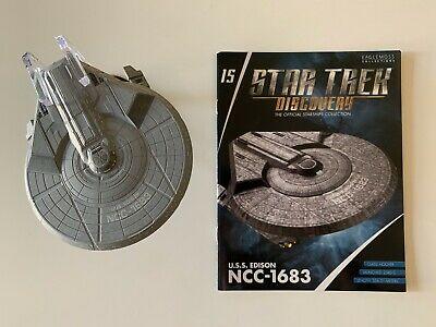 Eaglemoss Star Trek Discovery Starships Collection Issue 15 U.S.S Edison NO BOX