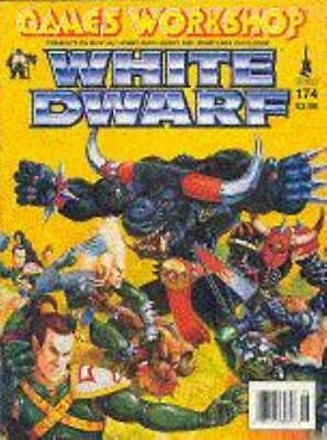 "GW White Dwarf #174 ""Blood Bowl Star Players, Warhammer Scenarion"" Mag VG+"