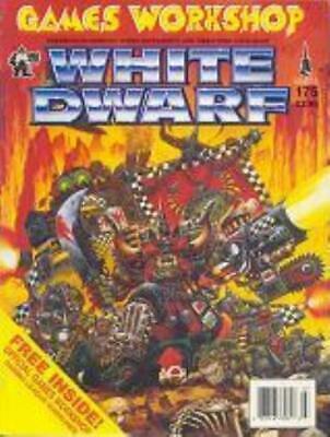 "GW White Dwarf #175 ""Ork Field Artillery, Blood Bowl Star Players"" Mag VG+"