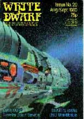 "GW White Dwarf #20 ""Star Patrol - Traveller Scout Service, D&D Module - Mag VG"