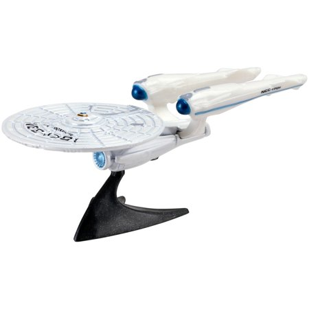 Hot Wheels Diecast 1:64 Scale Star Trek USS Enterprise NCC-1701