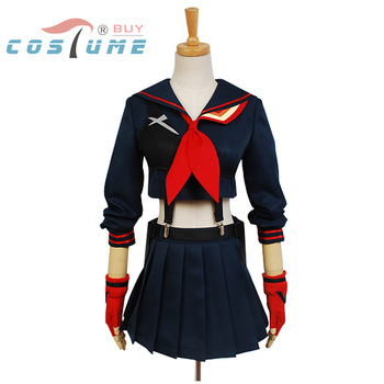 KILL la KILL Ryuko Matoi Cosplay Costumes Japanese Anime Party Halloween Costume For Women Girls Dress Custom Made