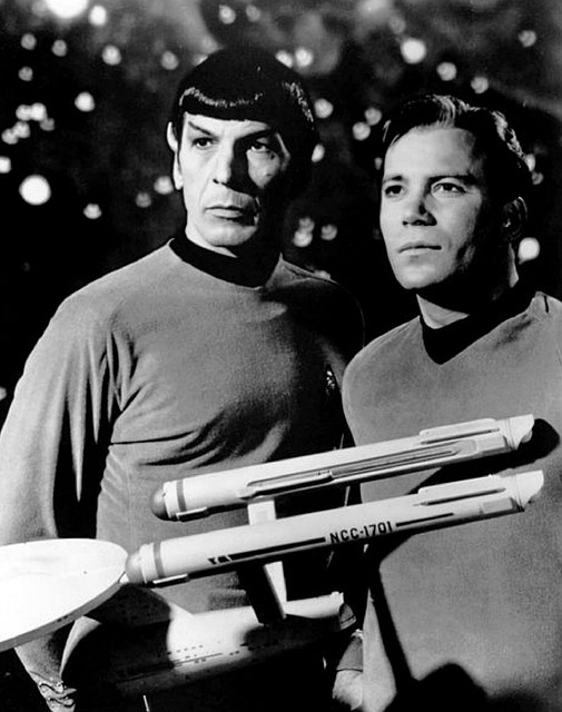 leonard nimoy, william shatner, star trek