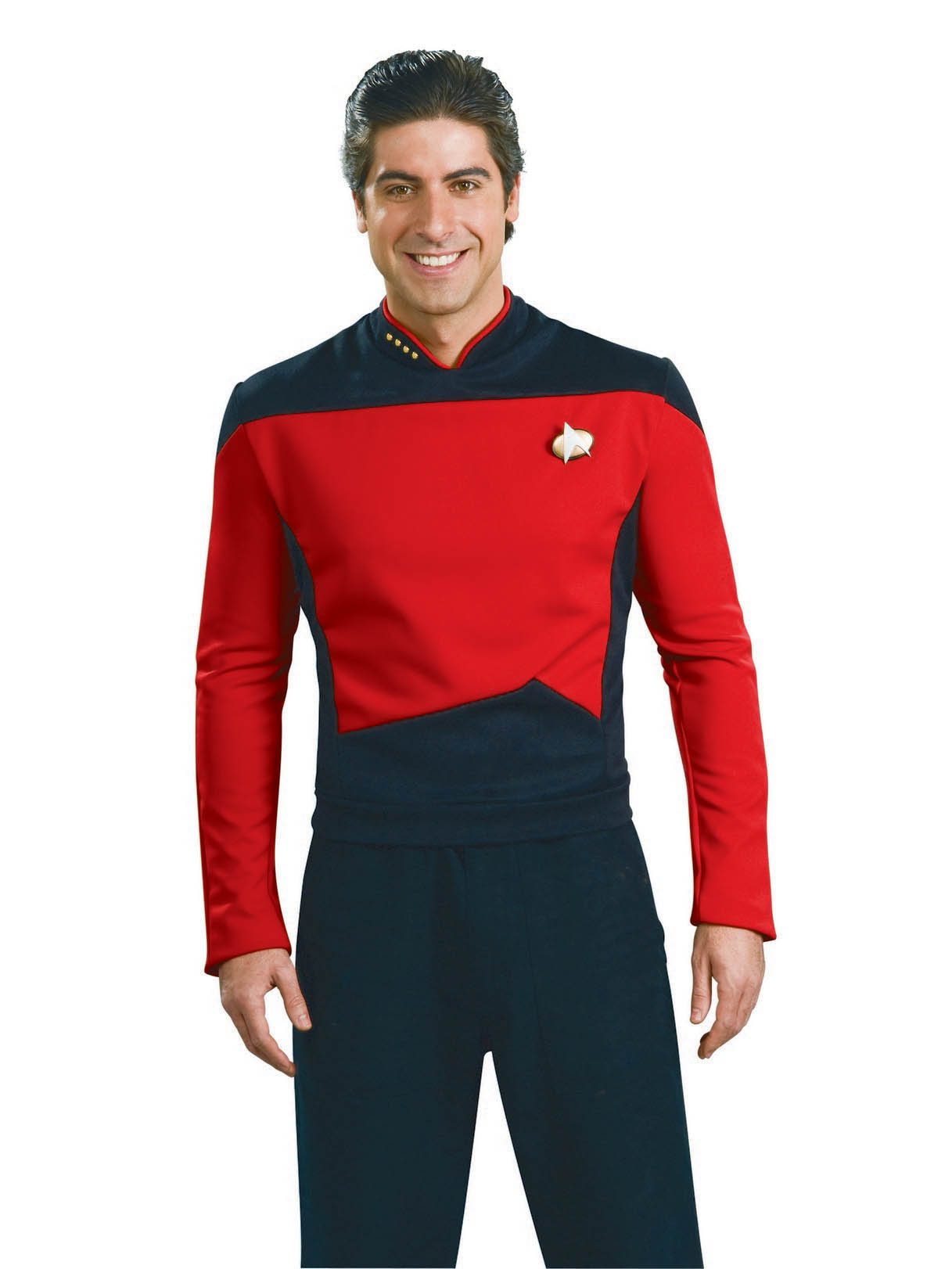 Men's Deluxe Star Trek TNG Red Shirt