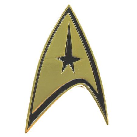 Pin - Star Trek - Command Badge New Toys Gifts Anime Licensed fj15qista