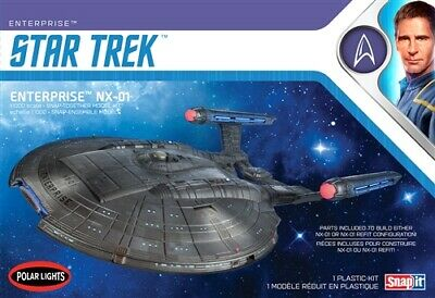 Polar Lights Star Trek NX-01 Enterprise (Snap) 1/1000 Model Kit POL966