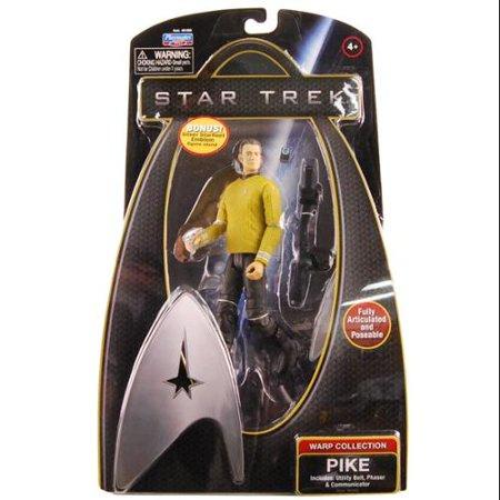 "Star Trek 6"" Action Figure Warp Collection Pike"