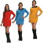 Star Trek Dress Uniform Costume Adult TOS Original Series Classic Fancy Dress