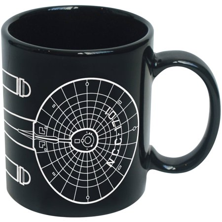 Star Trek Enterprise Line Art 20-Ounce Ceramic Mug