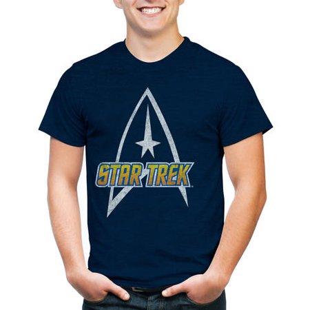Star Trek Logo Men's Short Sleeve Graphic T-Shirt