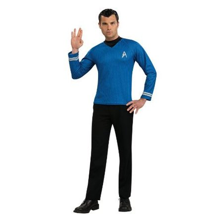 Star Trek Movie (2009) Blue Shirt Men's Adult Halloween Costume