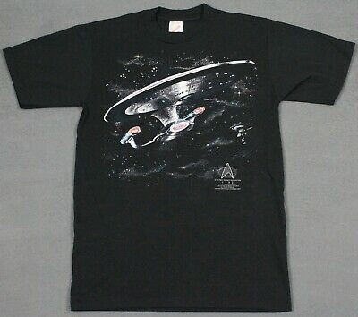 Star Trek Next Generation Vintage 1992 5th Anniversary T-Shirt Small Jerzees USA