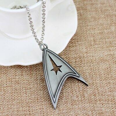 "Star Trek Original Series Command Logo Pendant on 24"" Rolo Chain"
