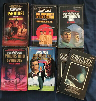 Star Trek Pocket Books With Puzzle Manual