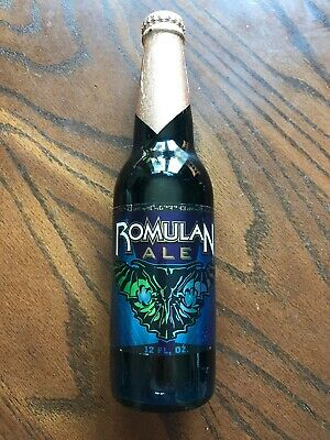 Star Trek Romulan Ale Prop from the Experience in Las Vegas One Bottle Unopened