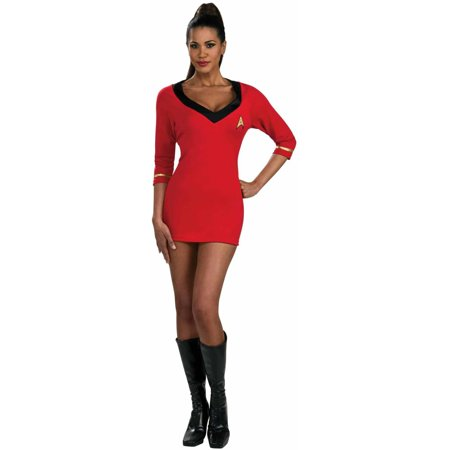 Star Trek Secret Wishes Red Dress Women's Adult Halloween Costume