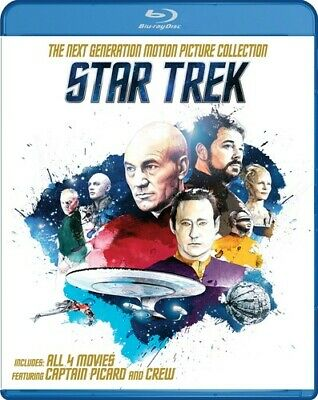 Star Trek - The Next Generation: Motion Picture Collection [New Blu-ray] Boxed