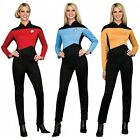 Star Trek TNG Uniform Costume Adult The Next Generation Fancy Dress