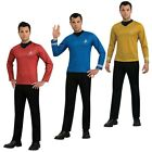 Starfleet Uniform Adult Star Trek Costume Officer Shirt Fancy Dress