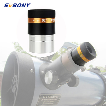 """SVBONY Aspheric Eyepiece Telescope HD Wide Angle 62 Degree Lens 4/10/23mm Fully Coated for 1.25"""" Astronomy Telescope F9301"""
