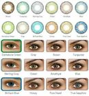 Vibrant Color Contacts Eye Lenses Halloween Cosmetic Makeup Lens FREE CASES!
