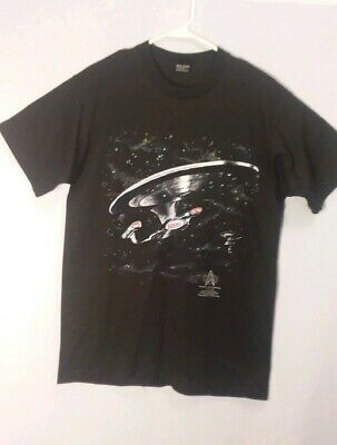 Vtg Star Trek The Next Generation Fifth Anniversary Screen Stars Best T-shirt