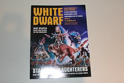 Warhammer White Dwarf Issue 92 October 2015 - Star Slaughterers