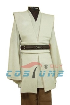 Adult Star Wars Costume Obi Wan Kenobi Costume Jedi Cosplay Costume Cloak Halloween Costumes For Adult Men