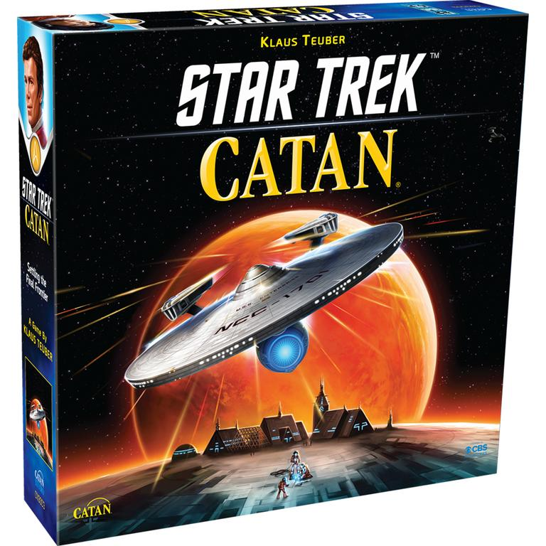 Asmodee North America Star Trek Catan Board Game Available At GameStop Now!