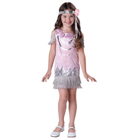 Girls Fancy Flapper Costume