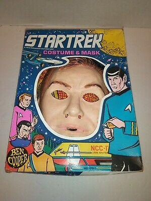 Star Trek Captain Kirk Ben Cooper Halloween Mask & costume 1976 William Shatner