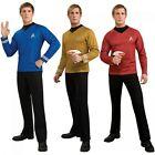 Star Trek Costumes Adult Deluxe Star Fleet Uniform Halloween Fancy Dress