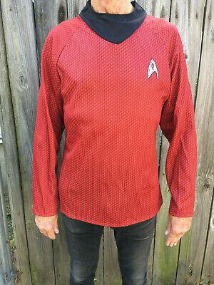 Star Trek Into Darkness Scotty Long Sleeve Shirt Rubie's Costumes Medium